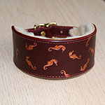Buckle Collar Painted Floating Seahorses