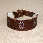 Buckle Collar Celtic Circles V3