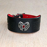 Buckle collar with Dragon Heart