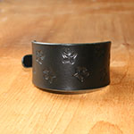 Starfish Leather Buckle Collar (2 inch wide)