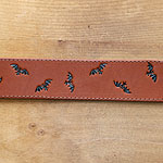 Painted Bats Greyhound Buckle Collar (2 inch wide)