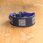 Buckle Collar Luxury Celtic Squares