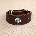 Celtic & Conchos Martingale Collar (1.75 inch wide)