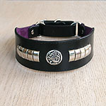 Celtic Metal Martingale Collar (2 inch wide)