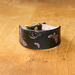 RTB Printed Butterfiles Buckle Collar (small wide)